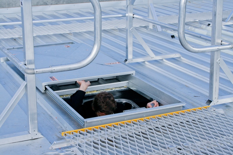 Access hatch for roofs, access hatches, Defender