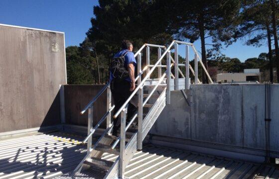 Pfizer Height Safety Installation