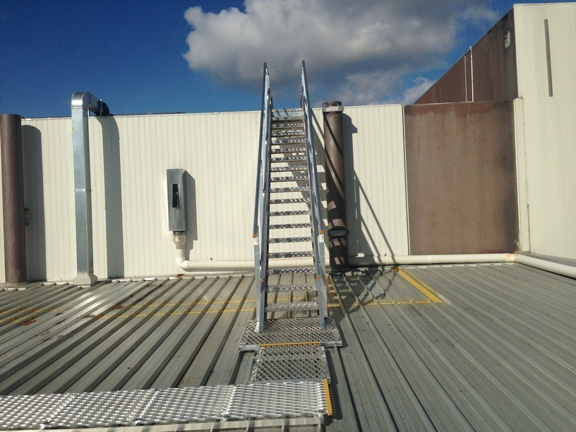 Pfizer Upgrades Their Rooftop Access Case Study