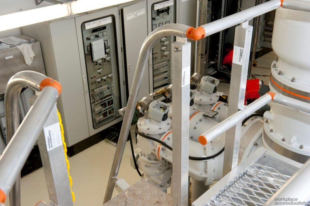 Workplace Access & Safety recently completed a height safety equipment installation project for Alstrom Energy.