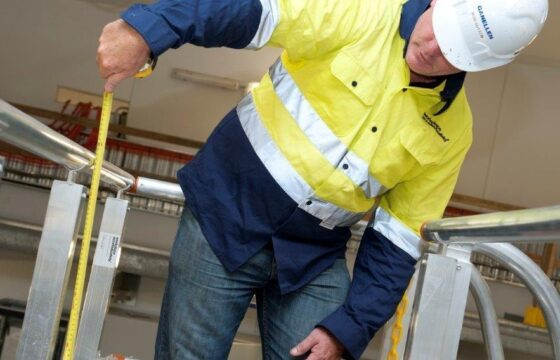 Alstrom Energy heights safety installation project and height safety inspection
