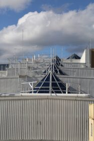 Westfield, Fountain Gate, Workplace Access & Safety, WAS, walking on roof, Guardrail